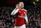 """I.Wrightas: """"Arsenal"""" elgiasi teisingai, jog nesilanksto prieš A.Ramsey"""""""
