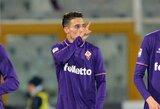 """Apmaudi vartininko klaida ir C.Tello magija išplėšė """"Fiorentina"""" klubui pergalę prieš autsaiderį"""