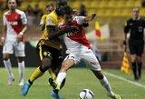 """""""Lille"""" pirmąjį sezono tašką iškovojo Monake"""