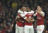 """""""Arsenal"""" savininko sūnus J.Kroenke ramina įtūžusius sirgalius: """"Dirbame, kad vėl kovotume dėl titulų"""""""