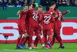 """Pergalę iškovoję """"Bayern"""" užsitikrino vietą Vokietijos taurės pusfinalyje"""