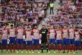 """A.Griezmanno įvartis padėjo """"Atletico"""" komandai iškovoti pirmąją pergalę Ispanijos čempionate"""