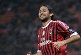 """M.Yepesas dar vienam sezonui pratęsė sutartį su """"Milan"""""""