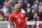 """Vasarą klubą palikti ketinęs R.Lewandowskis nori užbaigti karjerą """"Bayern"""" gretose"""