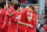 """""""Liverpool"""" traukinys negailestingai pervažiavo """"Swansea City"""""""