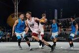 """Finalinį pasaulio 3x3 krepšinio turo etapą """"Gulbelė"""" pradėjo dvejomis pergalėmis ir tiesiu keliu į ketvirtfinalį"""