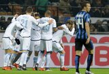"""""""Lazio"""" svečiuose dramatiškai parklupdė """"Inter"""" klubą"""