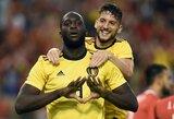 Finalinis testas prieš pasaulio čempionatą: belgai sutriuškino Kosta Riką