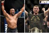 """Palyginkite: paviešintos """"UFC 220"""" ir """"Bellator 192"""" kovotojų algos"""