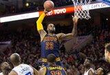 L.Jamesas ir Ch.Paulas susižėrė NBA savaitės žaidėjų laurus
