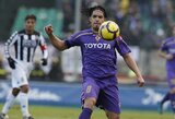 """Fiorentina"" nariu J.Manueliu Vargasu domisi ""Liverpool"" ir ""Malaga"" klubai"