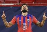 """E grupės lyderių mūšyje O.Giroudas tapo """"Sevilla"""" siaubu: pelnė 4 įvarčius ir padovanojo """"Chelsea"""" įspūdingą pergalę"""