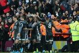 """Puikią formą demonstruojantis """"Leicester City"""" iškovojo """"Premier"""" lygoje aštuntąją pergalę iš eilės"""