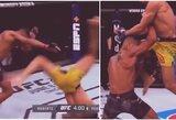 Tarsi kompiuteriniame žaidime: M.Pereiros kovos stilius pavergė UFC gerbėjus