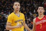 S.Curry gali pagerinti R.Allenui priklausantį rekordą
