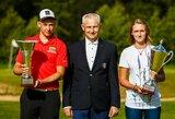 Lietuvos atvirajame golfo mėgėjų čempionate sužibėjo G.Markevičius ir G.B.Starkutė