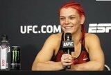 G.Robertson UFC narve pagerino R.Namajunas ir R.Rousey rekordą