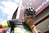 """Įspūdinga: """"Serie A"""" lygoje stebuklingai """"Crotone"""" klubą išlaikęs treneris ištesėjo pažadą ir dviračiu pervažiavo beveik visą Italiją"""