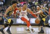 """NBA čempionų duobė gilėja: 28 taškais pralaimėta prieš """"Thunder"""""""