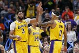 """""""Lakers"""" išsikapstė Oklahomoje"""