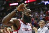 """""""Rockets"""" tritaškiais užmėtė varžovus ir iškovojo pergalę"""