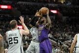 """""""Lakers"""" trečią kartą pralaimėjo prieš """"Spurs"""""""
