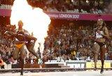 Neįtikėtina: šalia finišo linijos kritusi amerikietė – greičiausia pasaulio moteris!