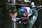 """Istorine sėkme pasaulio čempionatą pradėję Lietuvos biatlonininkai: """"Didžiausi nuopelnai – merginoms"""""""
