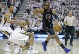 """""""Clippers"""" atlaikė """"Jazz"""" šturmą ir išplėšė lemiamas rungtynes"""