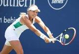 """Paskutinė """"US Open"""" turnyre likusi Baltijos šalių tenisininkė žengė į aštuntfinalį"""