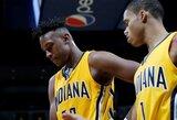 """""""Pacers"""" naujoko karjeros rungtynės užgožtos skaudžios nesėkmės"""