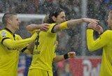 """Iškritęs sniegas nesutrukdė """"Borussia"""" klubui laimėti"""