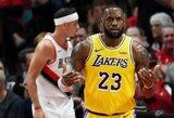 """L.Jamesas po pralaimėjimo """"Rockets"""": """"Nesu nei kiek nusivylęs"""""""