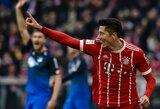 """Vokietijoje – """"Bayern"""" laimėtas įvarčių karas su """"Hoffenheim"""""""
