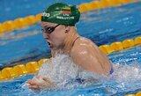 R.Meilutytė Šefilde iškovojo pirmąjį aukso medalį