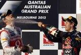S.Vettelis džiaugiasi iškovojęs nemažai taškų