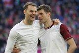 """""""Bayern"""" prezidentas atskleidė, kuriems žaidėjams ketina pasiūlyti naujus kontraktus"""