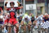 A.Kruopis ir E.Juodvalkis startavo dviračių lenktynėse Belgijoje