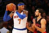 """""""Knicks"""" legenda: Anthony turėtų rimtai pagalvoti apie galimybę prašytis išmainomam"""