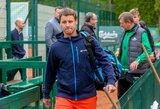"""R.Berankio startas """"Roland Garros"""" – ankstyvu laiku"""