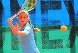 J.Mikulskytės pasirodymas jaunių teniso turnyre Maroke baigtas