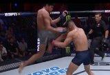 Pamatykite: įspūdingas smūgis keliu D.White'o turnyre garantavo A.Cruzui kontraktą su UFC