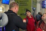 """Interviu metu – netikėtas praeivio sveikinimas A.Gudžiui: """"Buvai ir būsi čempionas, nereikia nusivilti"""""""