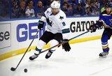 JAV žiniasklaida: D.Zubrus nežais antrosiose NHL finalo serijos rungtynėse