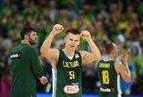 Lietuva FIBA reitinge pakilo į penktąją vietą