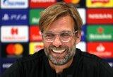 J.Kloppas džiaugėsi dėl M.Salah užfiksuoto pasiekimo, tačiau pripažino, jog intriga grupėje išliks iki paskutinių rungtynių