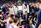 """Taiklus M.Jameso dvitaškis padovanojo CSKA dramatišką pergalę prieš """"Anadolu Efes"""""""