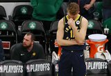 """""""Pacers"""" įžaidėjas pasigedo D.Sabonio: """"Mes turime daugiau jo ieškoti"""""""