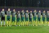 Lietuvos U-17 futbolo rinktinė atsilaikė ir prieš ukrainiečius