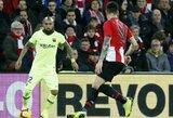 """""""Barcelona"""" nesugebėjo įveikti """"La Ligos"""" vidutiniokų"""